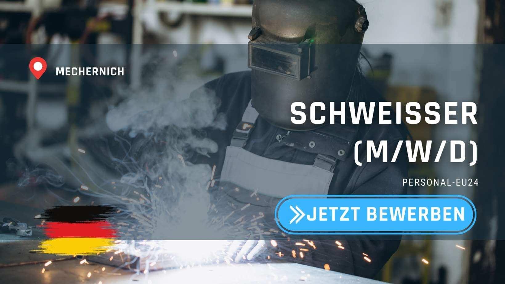 DE_K0052_120 Schweißer (mwd) Jobs in Mechernich_