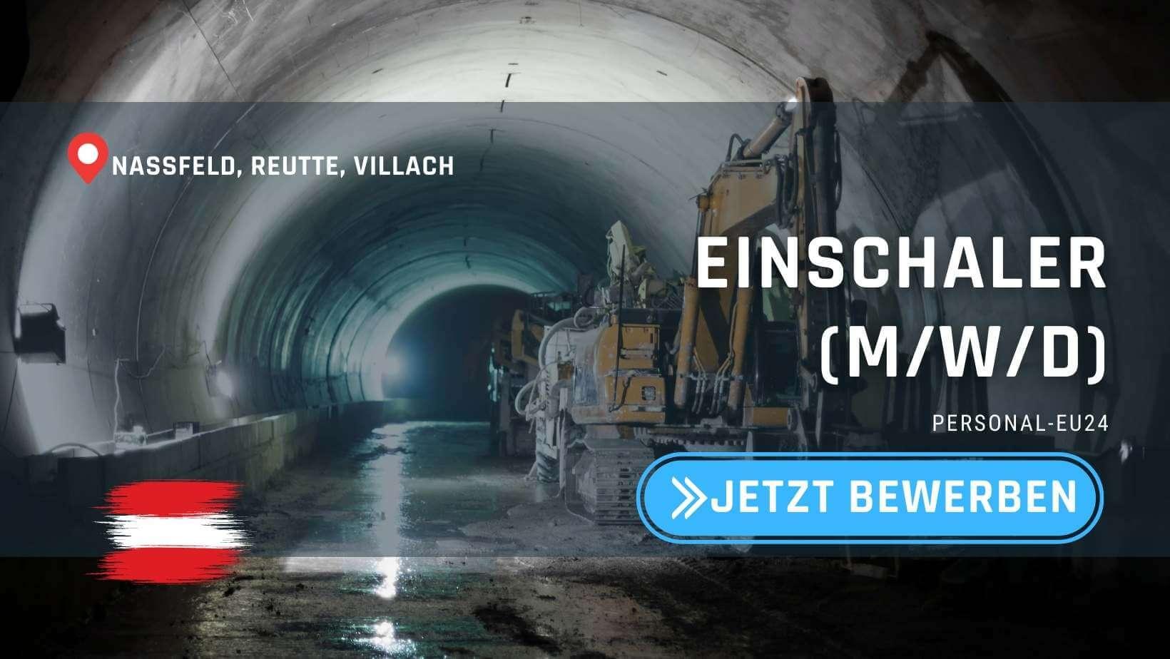 AT_K0001_099 - Einschaler (mwd) Jobs in Österreich
