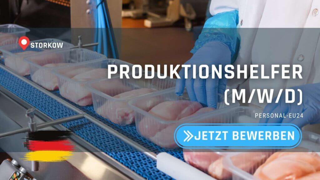 DE_K0035_100 - Produktionshelfer (mwd) Jobs in Storkow