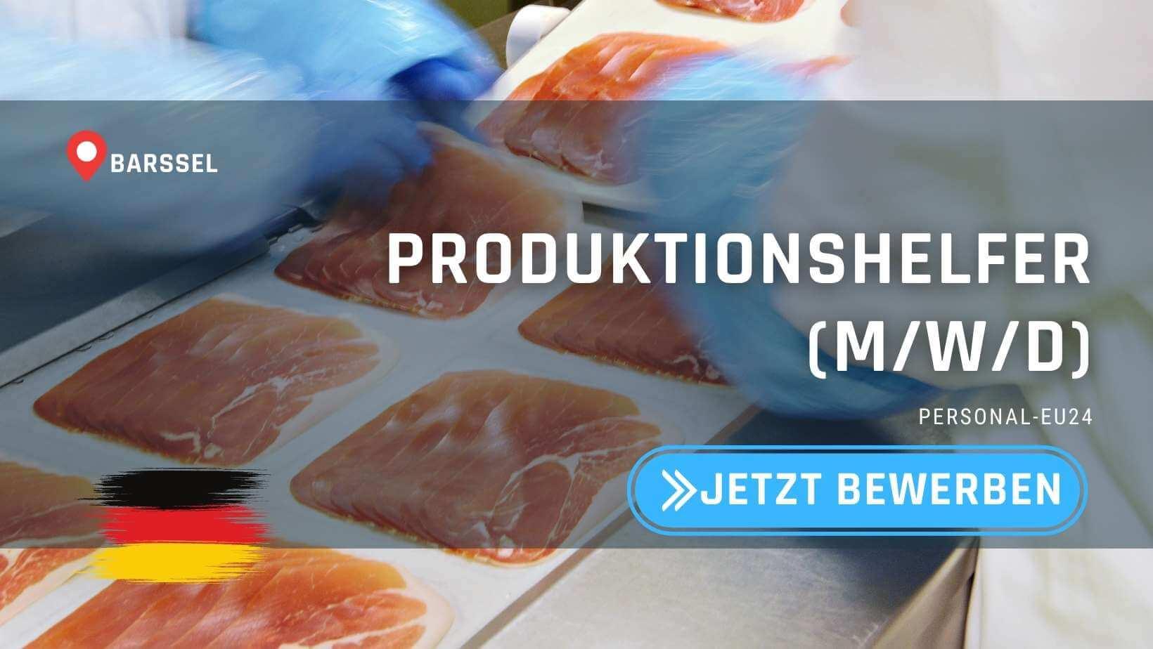 DE_K0045_113 - Produktionshelfer (mwd) Jobs in Barßel