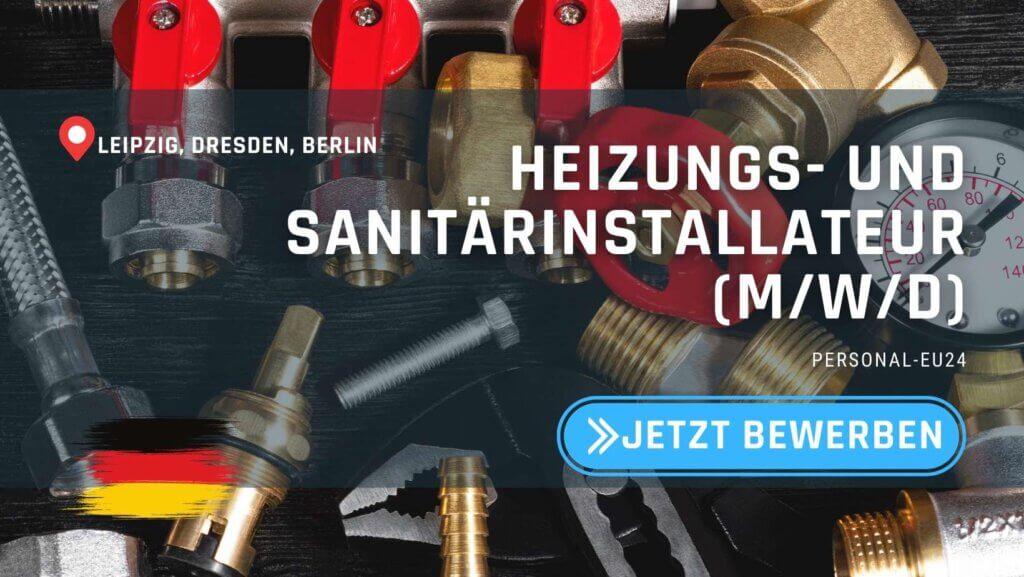 DE_K0047_123 Heizungs- und Sanitärinstallateur (mwd) Jobs in Sachsen