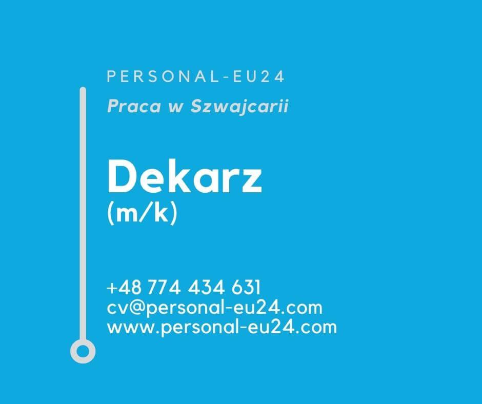 CH_K0015_007 Dekarz (mk) Praca w Szwajcarii