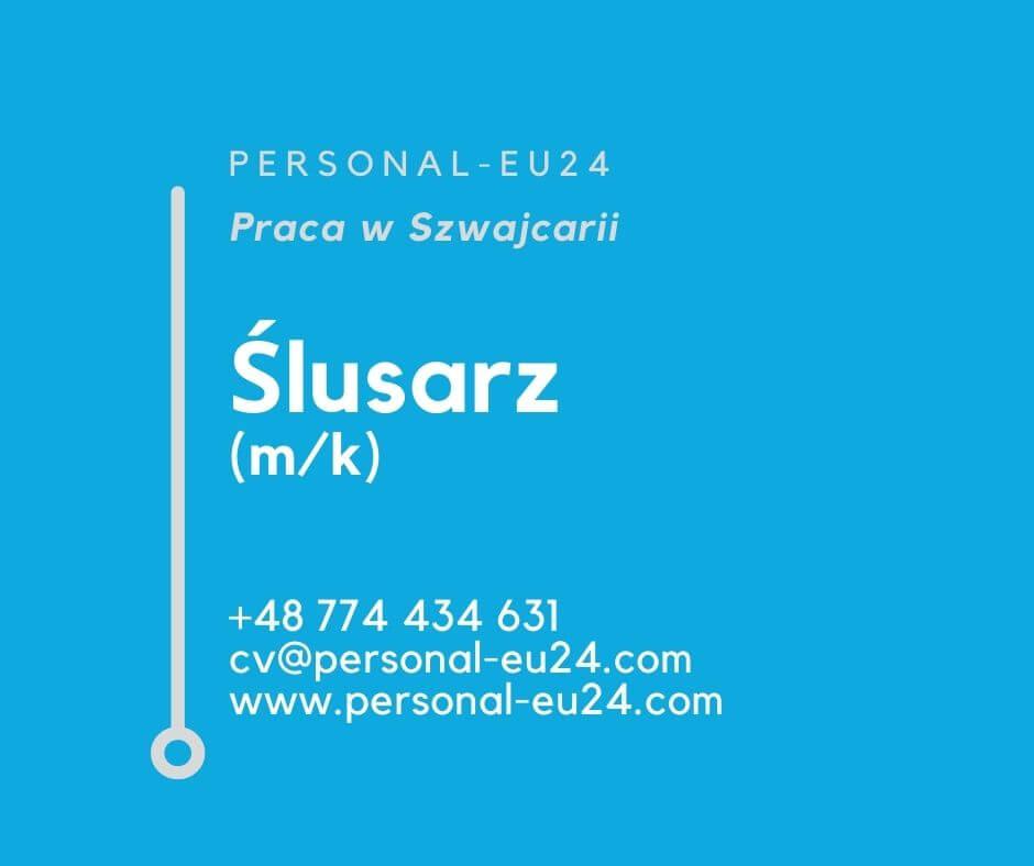 CH_K0015_069 Ślusarz (mk) Praca w Szwajcarii