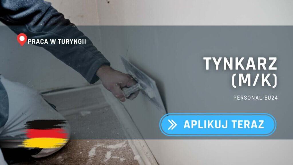 DE_K0047_133 Tynkarz (mk) Praca w Turyngii