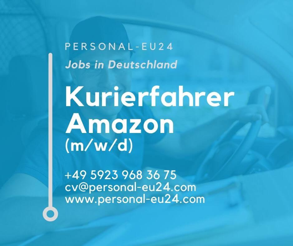 DE_K0058_136 Kurierfahrer Amazon (mwd) Jobs in Deutschland